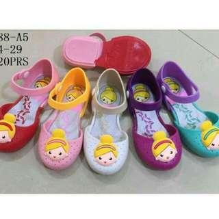 Sepatu jelly anak princes
