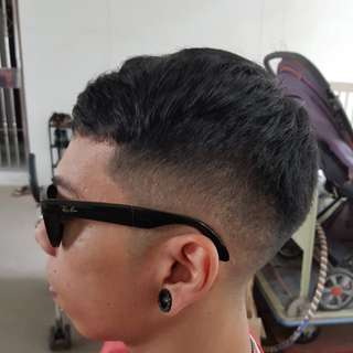 Zero low fade haircut