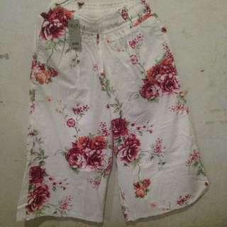 Flowers pants 7/8