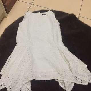 Gap girl white dress