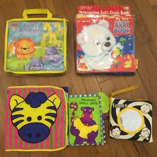 PL Baby Cloth Books ALL for $12