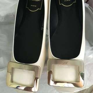 Roger vivier rv U Look Ballerina flats shoes 34.5