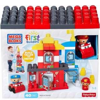 Brand New Mega Bloks First Builders Rescue Squad