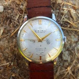 Vintage Seiko S Diashock 17 jewels