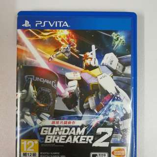 PSV Gundam Breaker 2