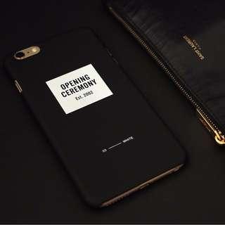 Opening Ceremony iPhone 6p 6plus Mobile Phone Case (Black)