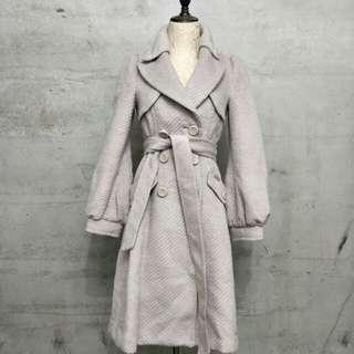 🚚 古着,版型超美含羊毛大衣