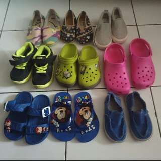 preloved and new sepatu anak