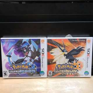 Pokemon ultra SUN & MOON