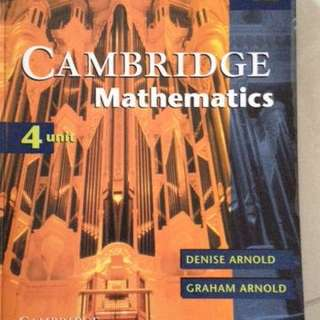Cambridge 4u Maths Textbook