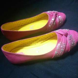 Girl Pink Flat Shoes