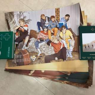 Bts Love yourself poster all ver official