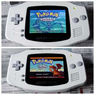 Refurbished Gameboy Advance (AGS-101) with Backlit Screen