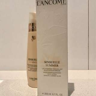 Lancôme Sensuelle Gradual Body Lotion 🌸Authentic
