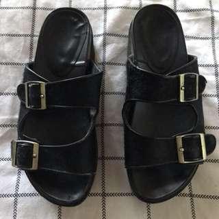 Window smith platform sandals