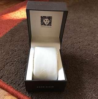 Anne Klein Watch box