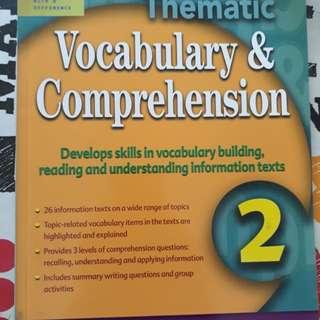Sec 2 Comprehension & Vocabulary