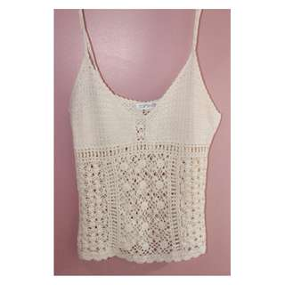 Topshop Boho Crochet Cami (BRAND NEW)