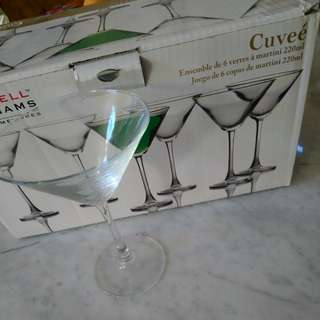 Maxwell Williams Martini Glasses
