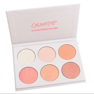 (RESTOCKED GET YOURS NOW) COLOURPOP GIMME MORE HIGHLIGHTER PALETTE RESTOCK PO