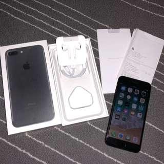 iPhone 7 Plus 32g 啞黑