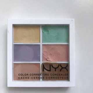 NYX corrector palette