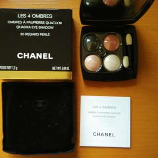 CHANEL eye shadow (4 colors palette)