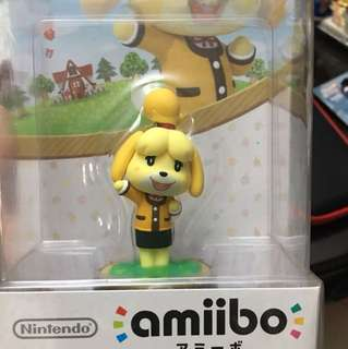 SAVE 250 for an Isabelle Amiibo