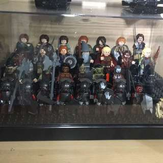 Lego lord of the ring mini figure 魔戒人仔