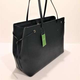 🈹Kate spade large tote bag BLACK