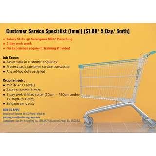 Customer Service Consultant