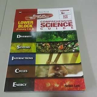 Science guide p3 & p4