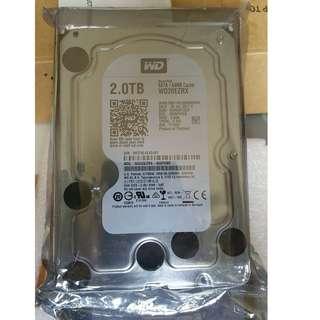"""BNIB Western Digital Internal 3.5"""" 2TB HDD (Refurbished)"""
