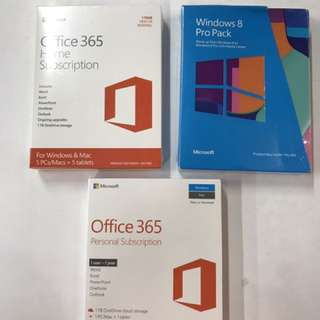 Microsoft office and pro pack