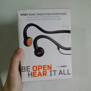 Aftershoks bone conduction sport headphones l