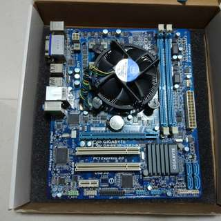 i3-2100 and Gigabyte GA-H61M-USB3-B3 matx Motherboard