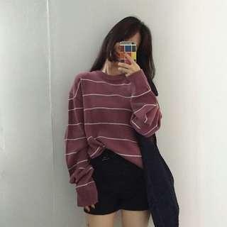 針織寬鬆毛衣