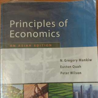 Principles Of Economics(Mankiw)