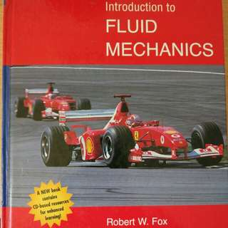 Introduction to Fluid Mechanics(Fox)