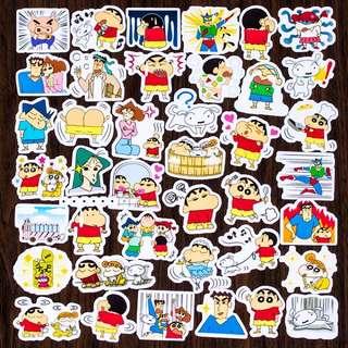 (FREE NM🎉) #1 Crayon shin chan stickers