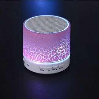 PO - LED Bluetooth Speaker