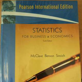 Statistics for Business and Economics(McClave)