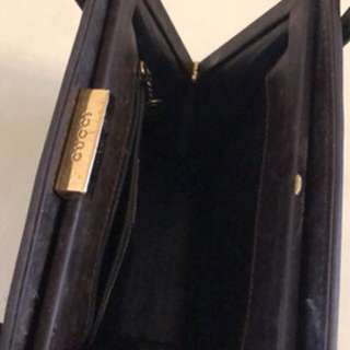 GUCCI HORSE LEATHER HANDBAG
