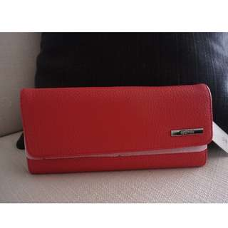 Kenneth Cole Reaction Elongation Clutch/Wallet (Red; Original; Brand New)