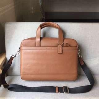 Authentic Coach briefcase office bag working bag laptop bag
