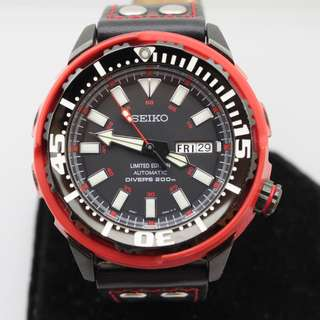 Seiko Baby Tuna SRP233K - Red Shroud - Limited Edition