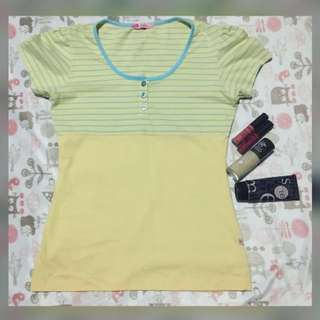 Repriced!! Yellow Blouse