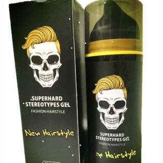 Strong Hold Hybrid Hair Gel Stereotype Gel