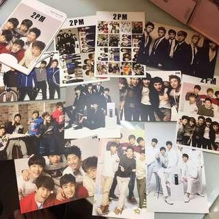 2pm postcard+貼紙