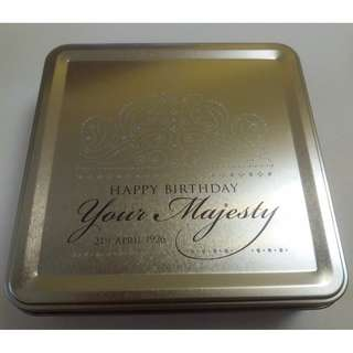 Happy Birthday Your Majesty Commemorative Tin Box